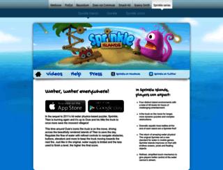 sprinklegame.com screenshot
