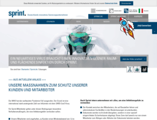 sprint.de screenshot