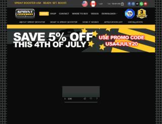 sprintboosterusa.com screenshot
