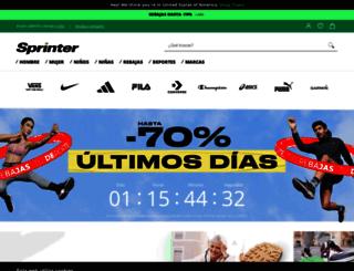sprinter.es screenshot