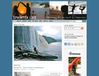 sprinterlife.blogspot.com screenshot