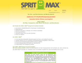 sprit-max.de screenshot