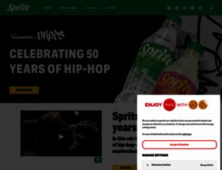 sprite.com screenshot