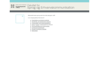 sprog.asb.dk screenshot