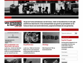 spronsen.com screenshot