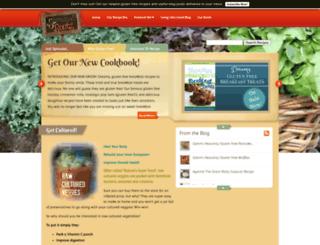 sproutedroots.com screenshot