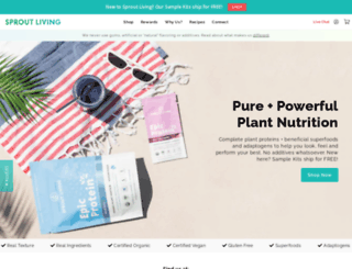 sproutliving.com screenshot
