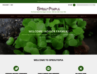 sproutpeople.org screenshot