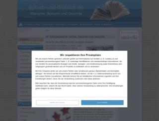 spruch-und-wunsch.de screenshot