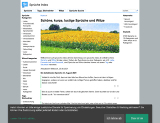 sprueche-index.de screenshot