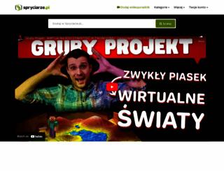 spryciarze.pl screenshot