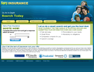 spryinsurance.com screenshot