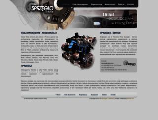 sprzeglo-service.pl screenshot
