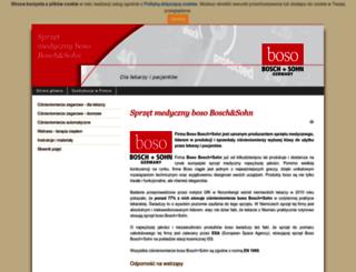 sprzet-boso.pl screenshot
