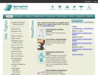 sps.lane.edu screenshot