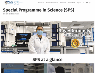 sps.nus.edu.sg screenshot