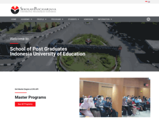 sps.upi.edu screenshot