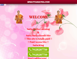 spsattamatka.com screenshot