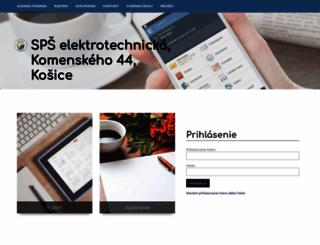 spseke.edupage.org screenshot