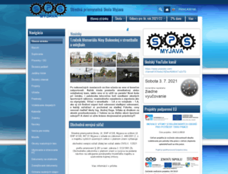 spsmyj.edupage.org screenshot