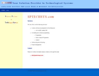 sptechsys.com screenshot