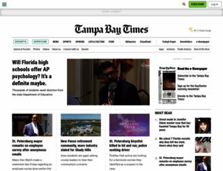 sptimes.com screenshot