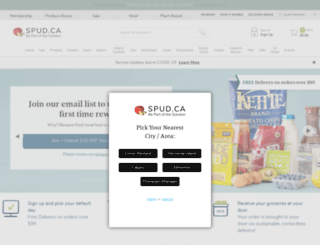 spud.com screenshot