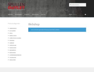 spullenoutlet.nl screenshot