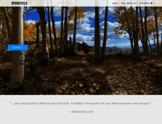 spurcycle.com screenshot