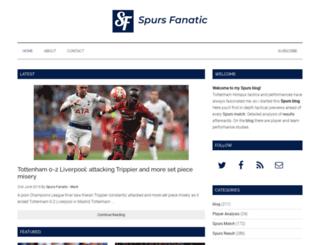 spursfanatic.com screenshot