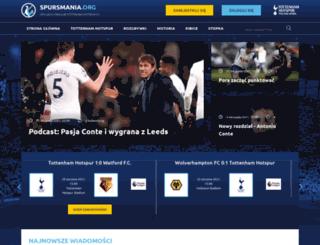 spursmania.org screenshot