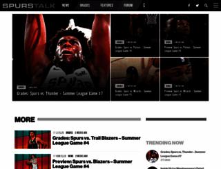spurstalk.com screenshot