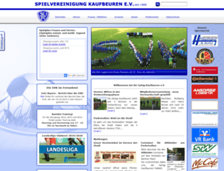 spvgg-kaufbeuren.de screenshot