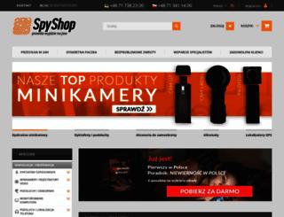 spy-shop.pl screenshot