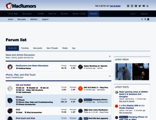 spy.macrumors.com screenshot