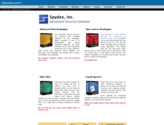 spydex.com screenshot