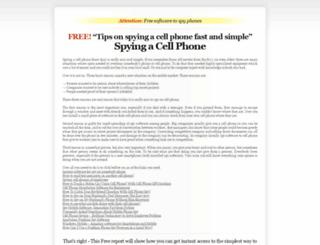 spying-cellphone.com screenshot