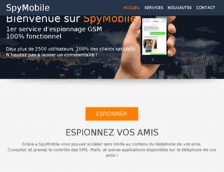 spymobile.fr screenshot