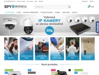 spyobchod.cz screenshot