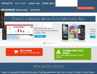 spyonyourmobile.com screenshot