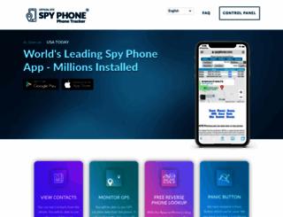 spyphone.com screenshot