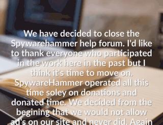 spywarehammer.com screenshot
