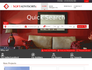 sqftadvisors.com screenshot