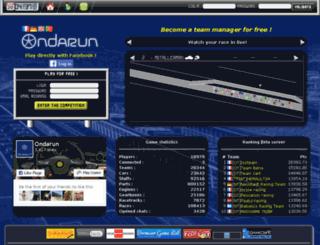 sql.ondarun.com screenshot
