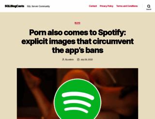sqlblogcasts.com screenshot