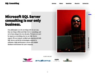 sqlconsulting.com screenshot