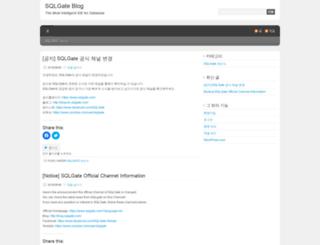 sqlgate.wordpress.com screenshot