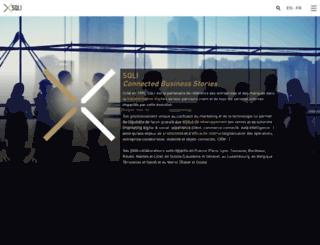 sqli-carrieres.com screenshot