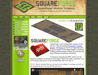 squareforge.com screenshot