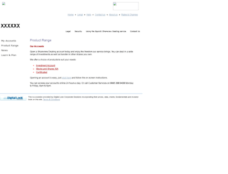 squaregain.digitallook.com screenshot